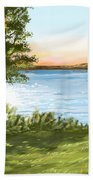Lake Bath Towel