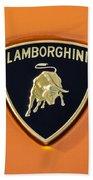 Lamborghini Emblem -0525c55 Bath Towel