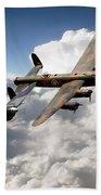 Lancaster And Spitfire  Bath Towel