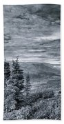 Land Shapes 18 Hand Towel by Priska Wettstein
