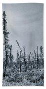 Land Shapes 21 Hand Towel by Priska Wettstein