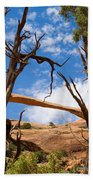 Landscape Arch - Arches National Park Bath Towel