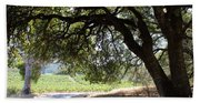 Landscape At The Jack London Ranch In The Sonoma California Wine Country 5d24583 Bath Towel