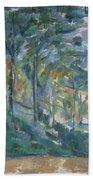 Landscape, C.1900 Bath Towel