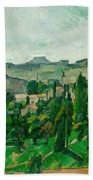 Landscape In The Ile-de-france Bath Towel