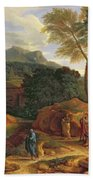 Landscape With Conopion Carrying Bath Towel