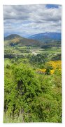 Landscape With Winding Road Bath Towel