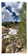 Alluvial Fan Colorado Bath Towel