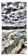 Langland Bay Painterly Bath Towel