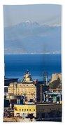 Lanterna - Lighthouse In Genova Bath Towel