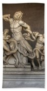 Laocoon And His Sons Bath Towel