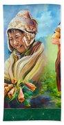 Large Mural In Cusco Peru Part 4 Bath Towel