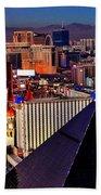 Las Vegas Sundown Bath Towel