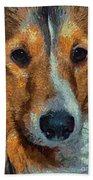 Lassie - Rough Collie Bath Towel