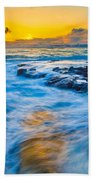 Last Rays Bath Towel
