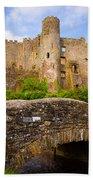 Laugharne Castle Bath Towel