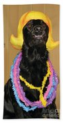 Laughter Yoga For Dogs Bath Towel