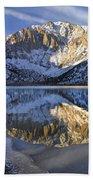 Laurel Mt And Convict Lake Sierra Bath Towel