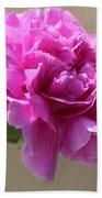 Lavender Carnation Bath Towel