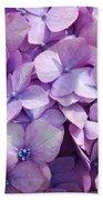 Lavender Hydrangea Bath Towel