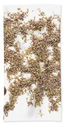 Lavender Seeds Bath Towel