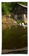 Lawrence County Grist Mill Bath Towel