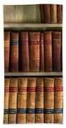 Lawyer - Books - Law Books  Bath Towel