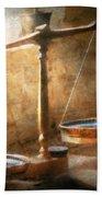 Lawyer - Scale - Balanced Law Bath Towel