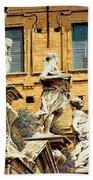 Le Statue Bath Towel