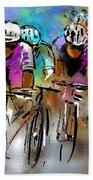 Le Tour De France 03 Bath Towel