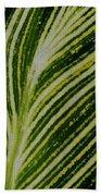 Leaf Lines Bath Towel