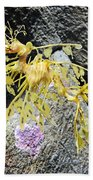 Leafy Seadragon Bath Towel
