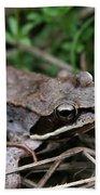 Wood Frog  Bath Towel
