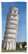 Leaning Tower Of Pisa Bath Towel