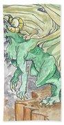 Leaping Dragon Bath Towel