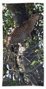 Leaping Leopard Bath Towel
