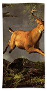 Leaping Stag Bath Towel