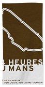 Legendary Races - 1923 24 Heures Du Mans Bath Towel