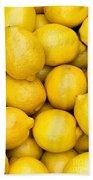 Lemons 02 Bath Towel