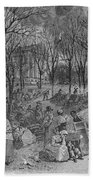 Lenox, Massachusetts, From Historical Collections Of Massachusetts, John Warner Barber, Engraved Bath Towel
