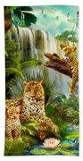Leopards Bath Towel