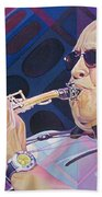 Leroi Moore-op Art Series Bath Towel