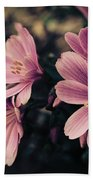 Lewisia Flowers - 7 Bath Towel