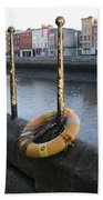 Life Saver -  Swiffey River - Dublin Ireland Bath Towel