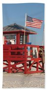 Lifeguard Siesta Beach Bath Towel