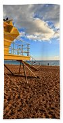 Lifeguard Off Duty Maui Hawaii Bath Towel