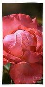 Light On Rose Bath Towel