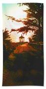 Lighthouse At Dusk Bath Towel