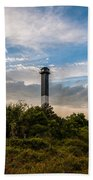 Lighthouse Pathway Bath Towel