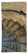 Lighthouse Spiral Staircase Bath Towel
